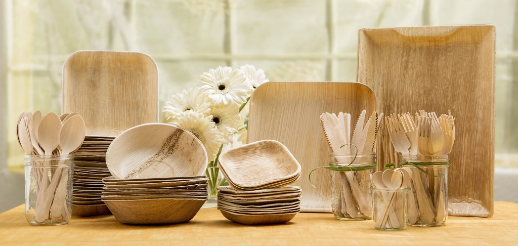 Eco friendly, environmentally responsible cups, plates and cutlery – byEcogreeny