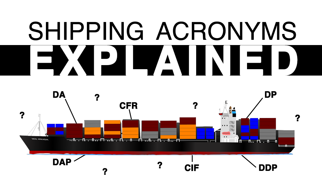 INCOTERMS you must know if you are importing or exporting