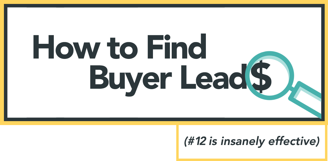 How To Find Buyers/ BuyingLeads