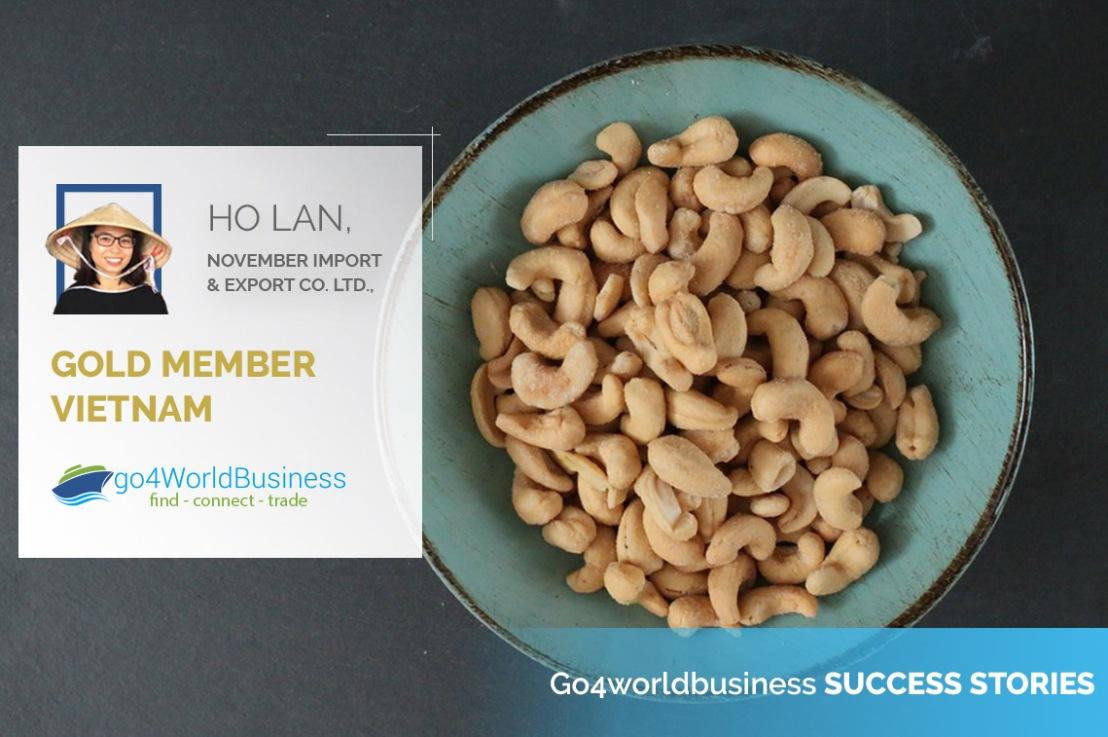 Member Spotlight: Ho Lan, November Import & Export Co.Ltd.